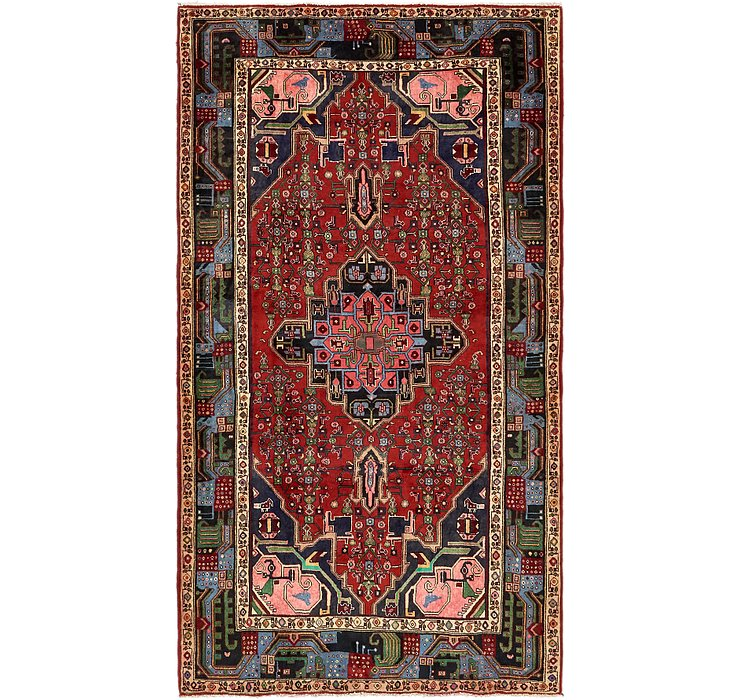 5' 3 x 9' 6 Songhor Persian Rug