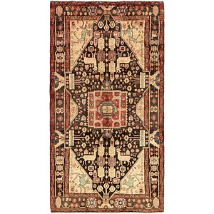 5' 4 x 9' 9 Hamedan Persian Rug