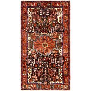 5' 4 x 9' 9 Nahavand Persian Rug