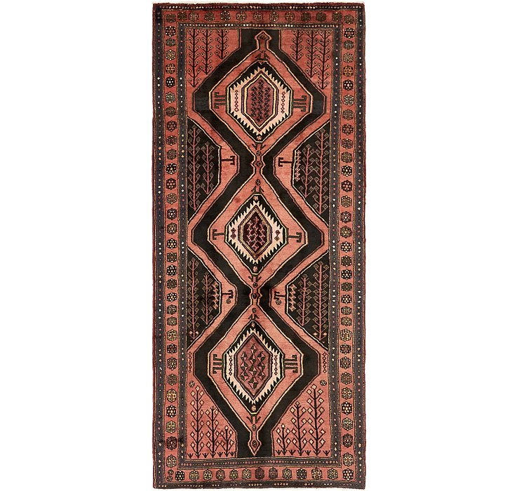 4' 3 x 10' 2 Sirjan Persian Runner Rug