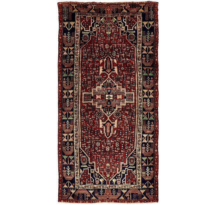 4' 9 x 10' 1 Koliaei Persian Runner ...