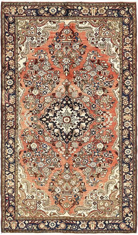 Red 5 3 X 9 Borchelu Persian Rug Persian Rugs Esalerugs