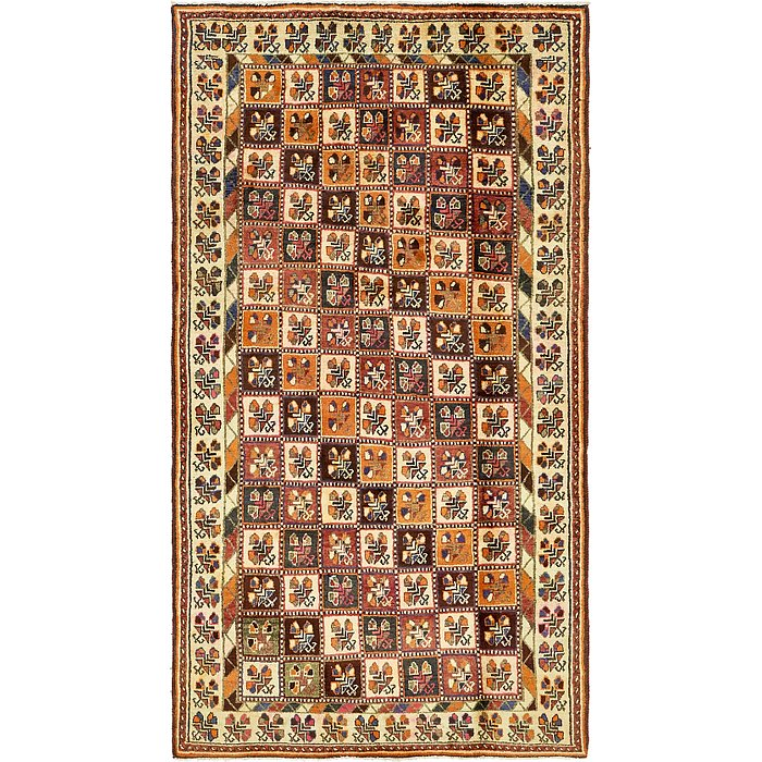 4' 10 x 9' 3 Bakhtiar Persian Rug
