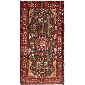 4' 11 x 9' 7 Nahavand Persian Rug