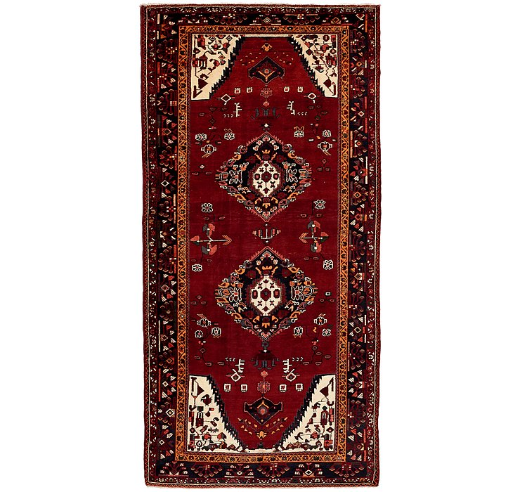 5' 4 x 10' 6 Borchelu Persian Rug