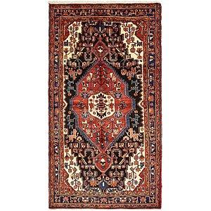 5' 2 x 10' Hamedan Persian Rug