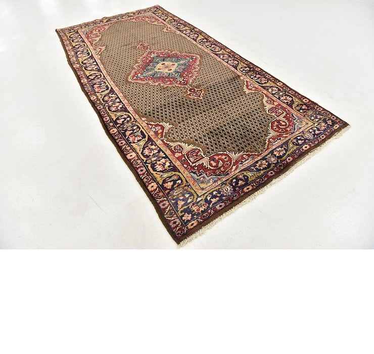 5' x 10' Songhor Persian Runner ...