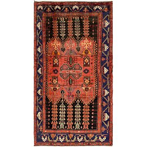 5' 3 x 9' 10 Hamedan Persian Rug