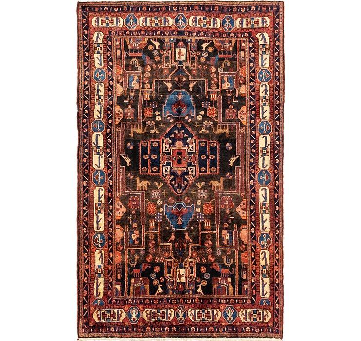 175cm x 287cm Nahavand Persian Rug