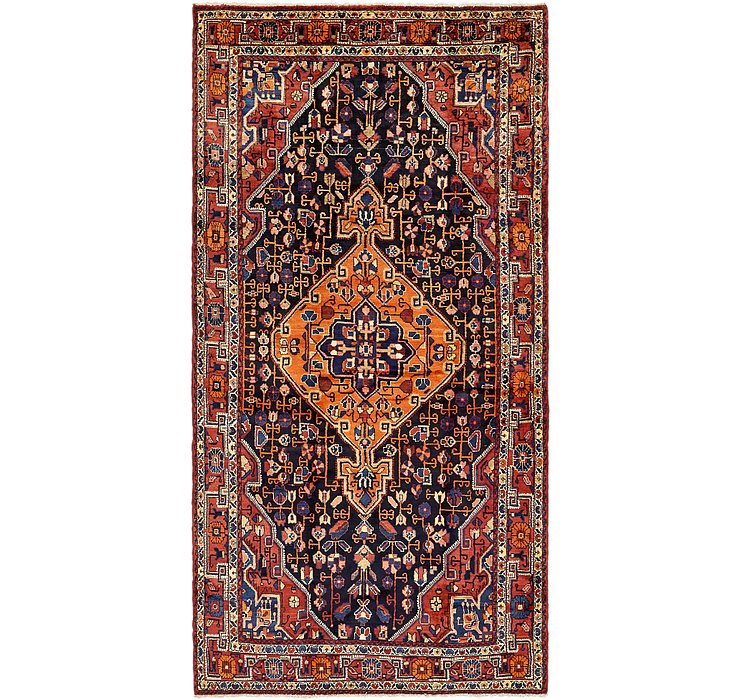 157cm x 318cm Nahavand Persian Rug