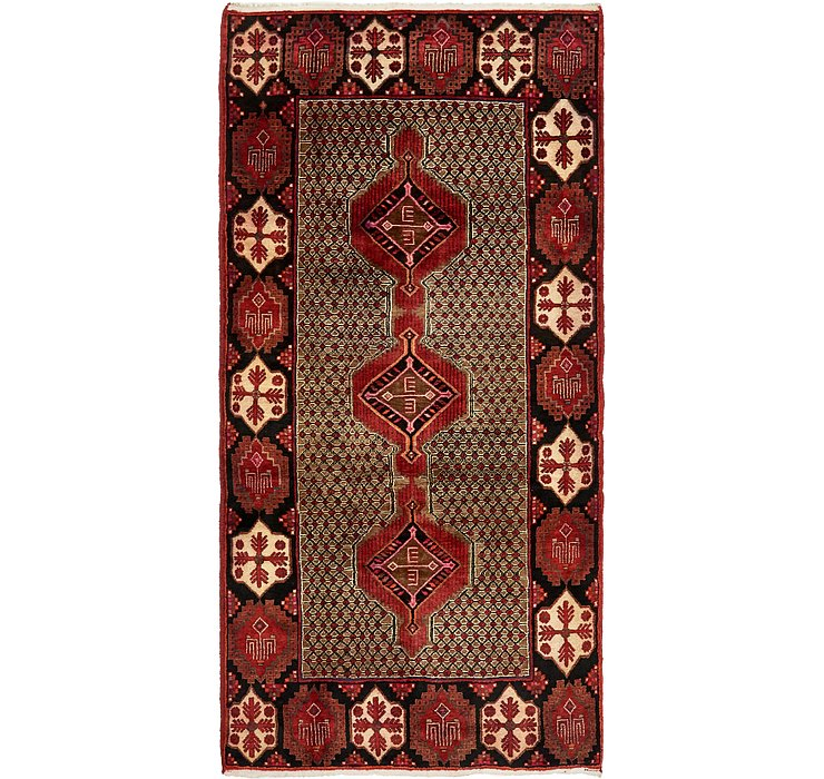 4' 10 x 9' 8 Songhor Persian Rug