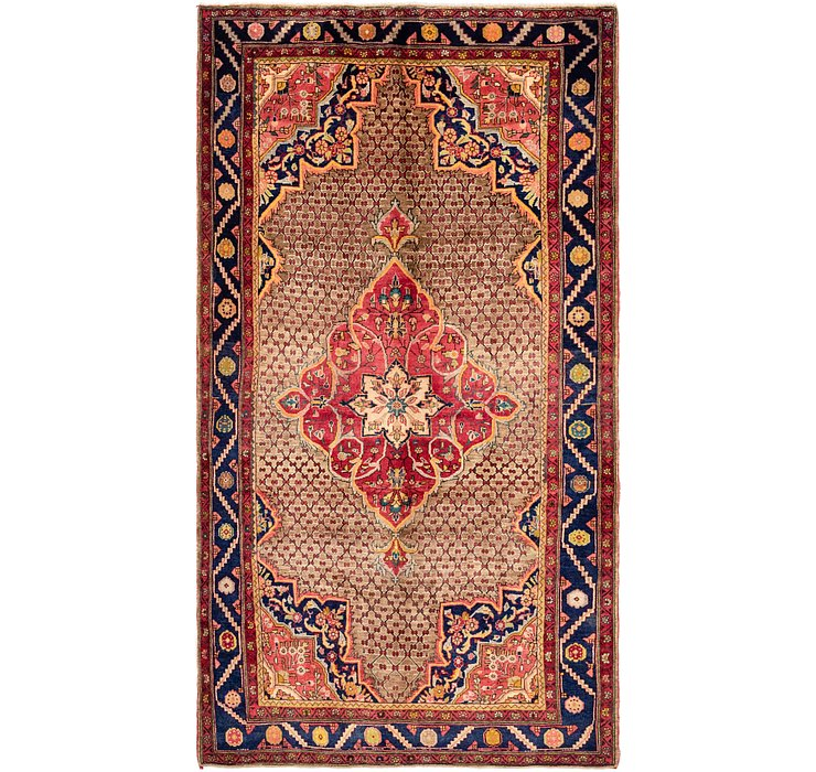 5' 5 x 9' 9 Songhor Persian Rug