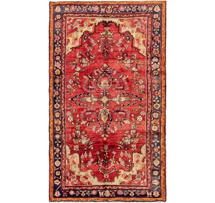 5' 2 x 9' Hamedan Persian Rug
