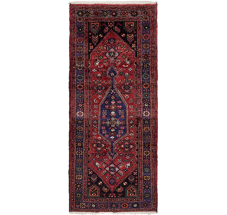 4' x 9' 3 Zanjan Persian Runner Rug