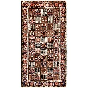 HandKnotted 5' 3 x 10' 2 Bakhtiar Persian Rug
