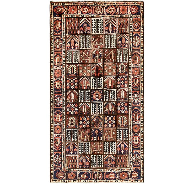 HandKnotted 5' 3 x 10' 2 Bakhtiar Persian Rug
