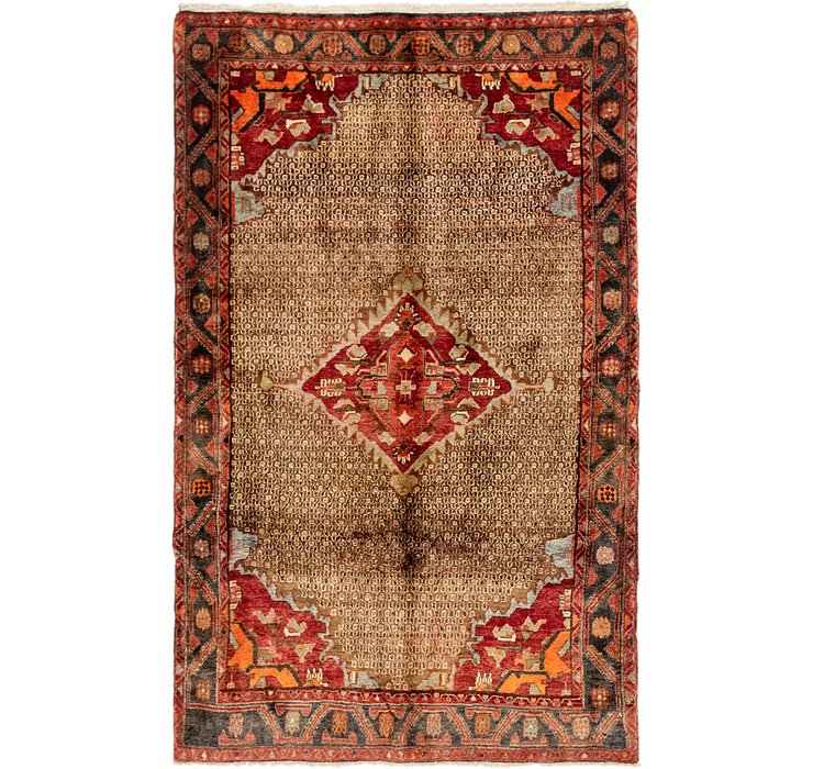 5' 9 x 9' Songhor Persian Rug