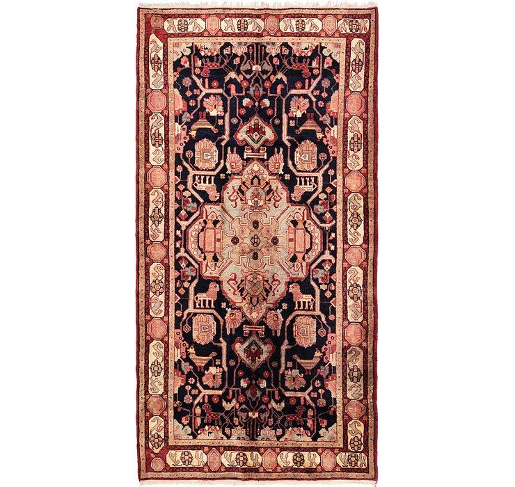 5' 10 x 11' 6 Hamedan Persian Rug