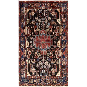 5' 6 x 9' 9 Nahavand Persian Rug