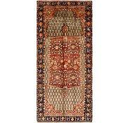 Link to 5' x 11' 5 Koliaei Persian Runner Rug