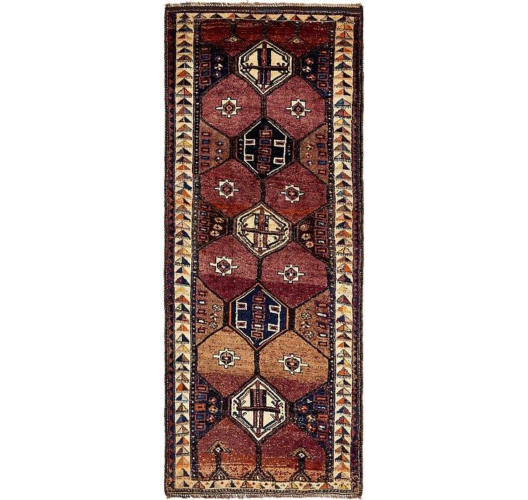 4' 11 x 11' 6 Shiraz Persian Runner Rug