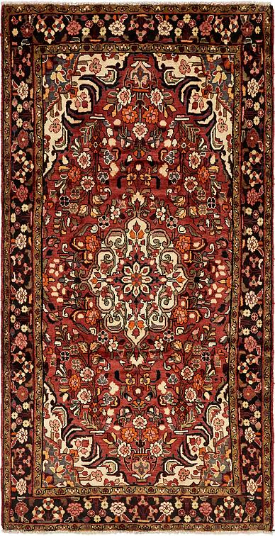 Red 5 X 10 Borchelu Persian Runner Rug Persian Rugs