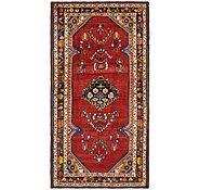 Link to 4' 10 x 9' 2 Borchelu Persian Runner Rug