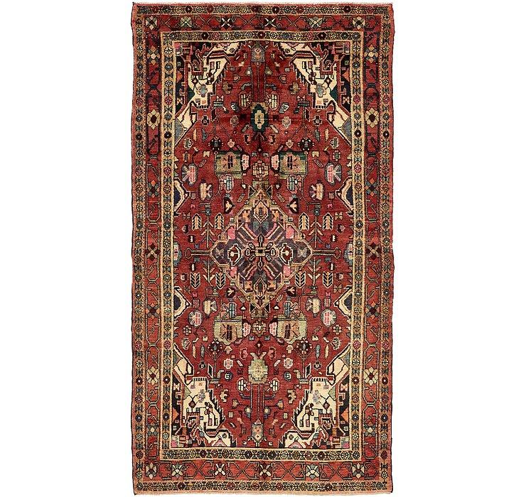 4' 8 x 8' 10 Roodbar Persian Rug