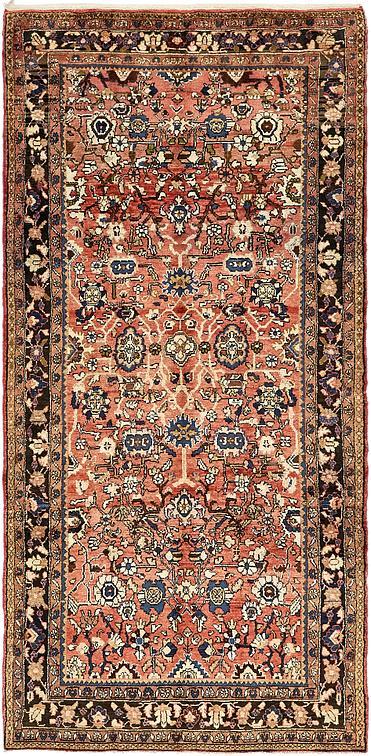 Red 5 X 10 6 Borchelu Persian Runner Rug Persian Rugs