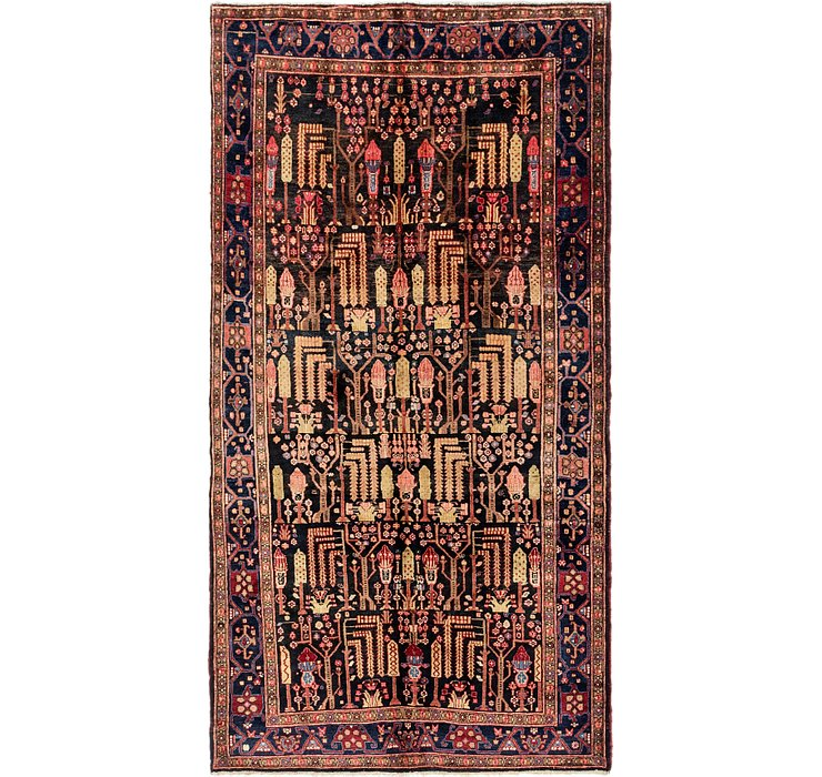5' 3 x 9' 8 Songhor Persian Rug