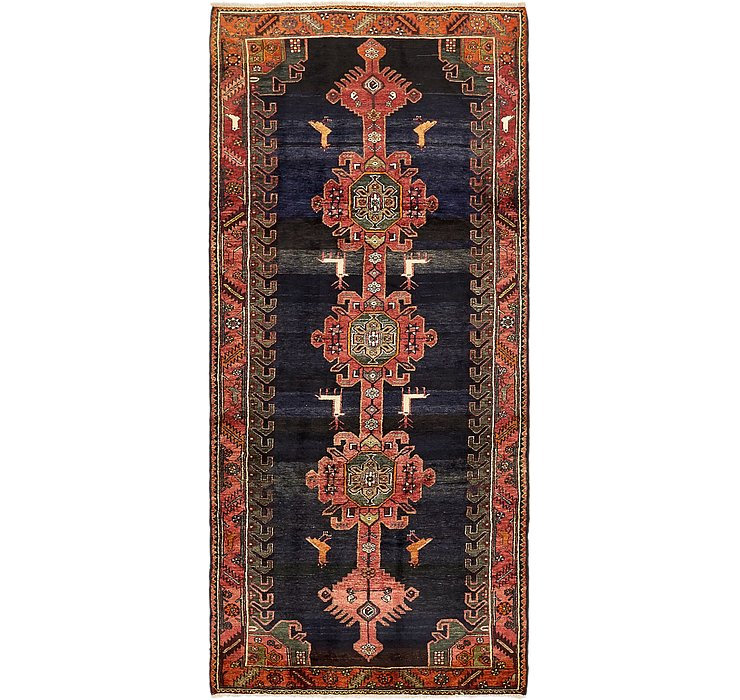 4' 3 x 9' 8 Saveh Persian Runner Rug