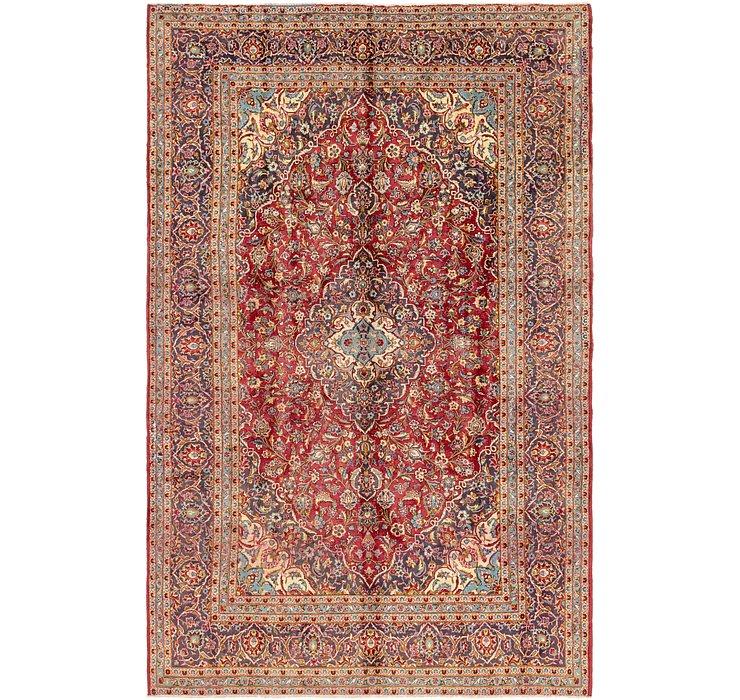 8' 4 x 13' 3 Kashan Persian Rug