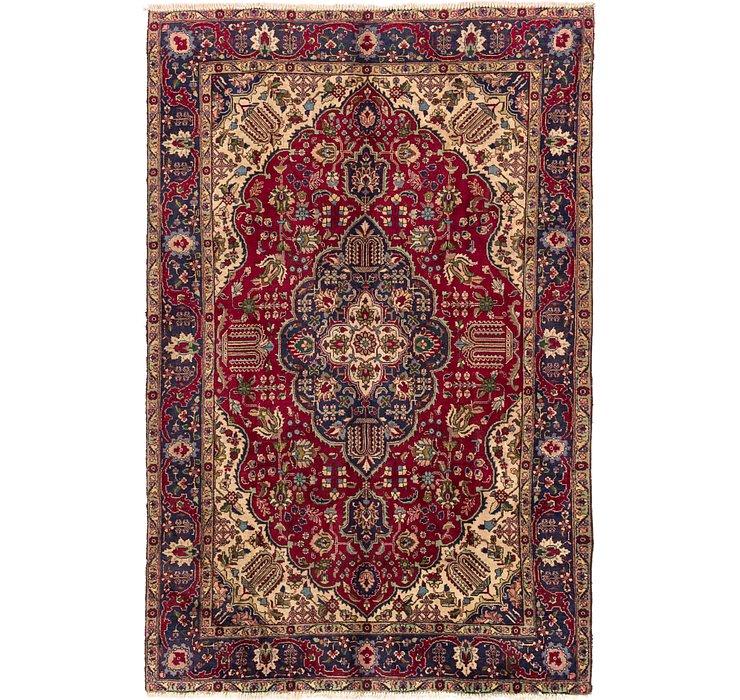6' 5 x 10' Tabriz Persian Rug