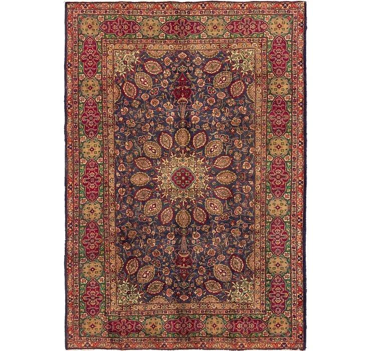 6' 8 x 9' 8 Tabriz Persian Rug