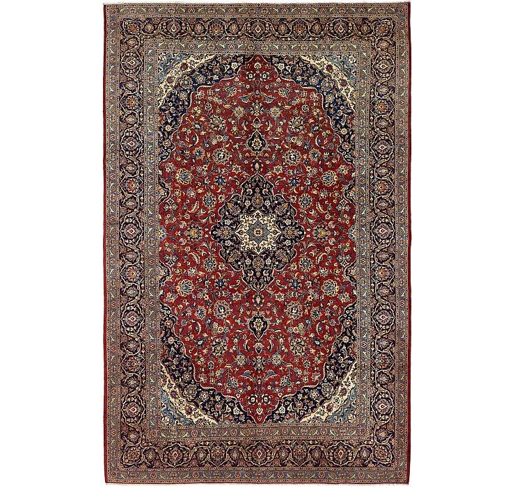 8' 5 x 12' 10 Kashan Persian Rug