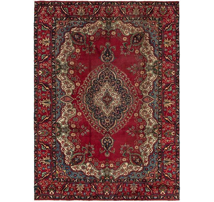 7' 7 x 11' Tabriz Persian Rug