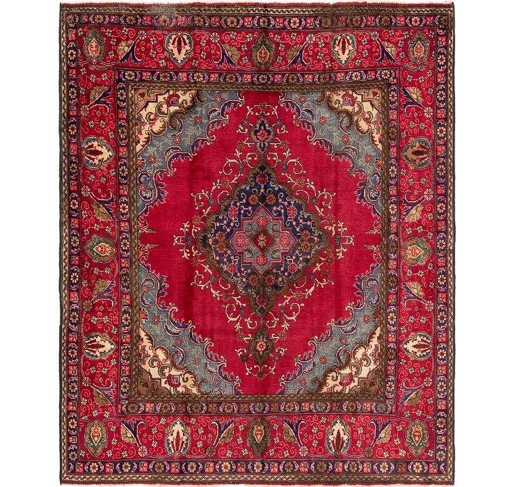 7' 8 x 10' Tabriz Persian Rug