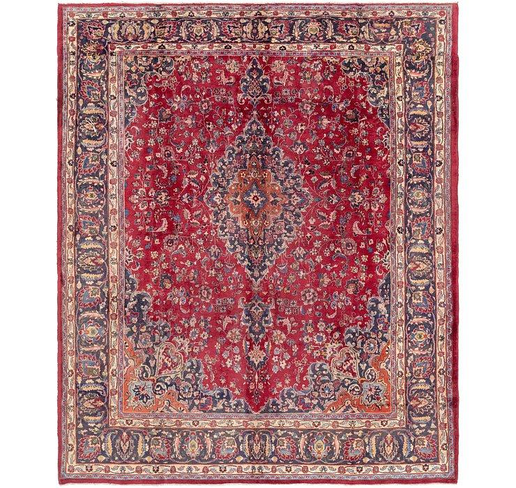 9' 8 x 11' 6 Mashad Persian Rug