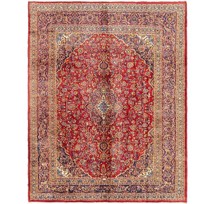 9' 6 x 12' Mashad Persian Rug