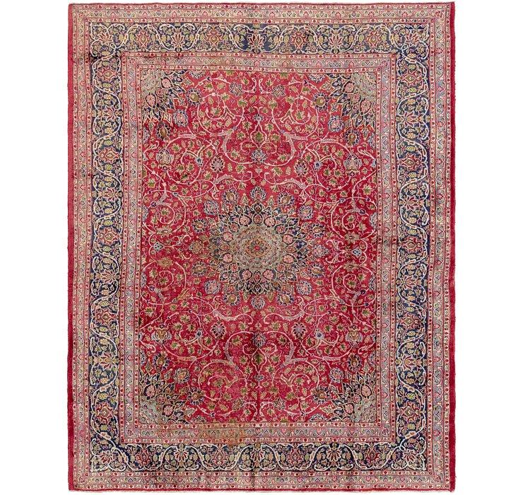 9' 6 x 12' 4 Mashad Persian Rug