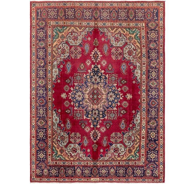 9' 10 x 13' 5 Tabriz Persian Rug