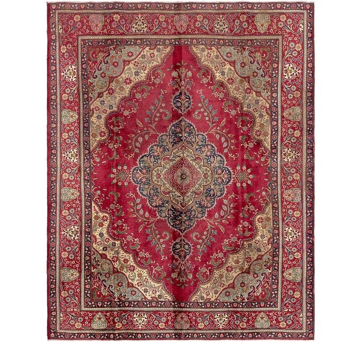 305cm x 390cm Tabriz Persian Rug