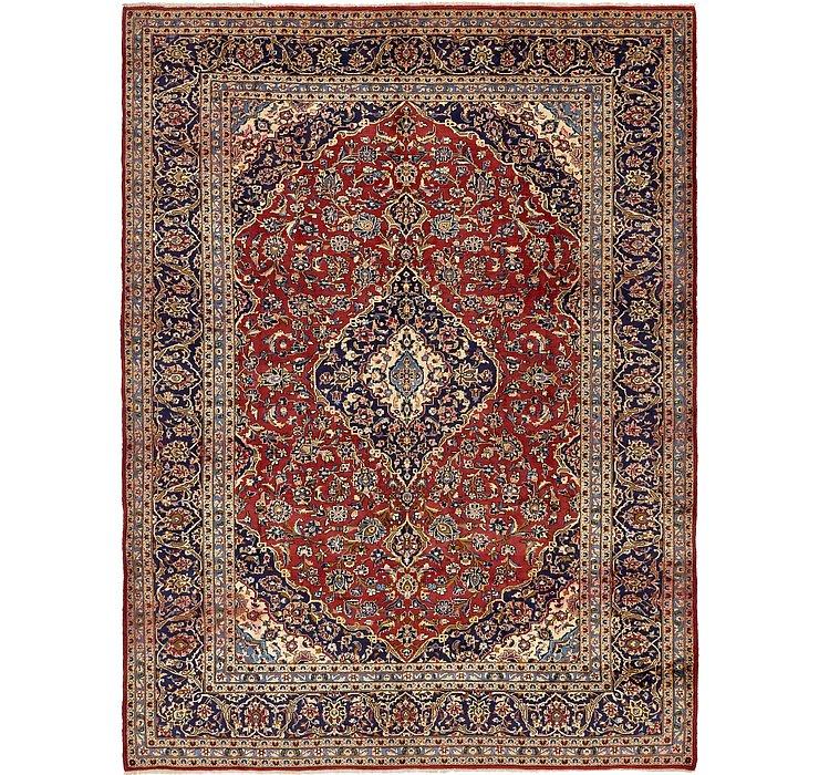 9' 7 x 12' 10 Kashan Persian Rug