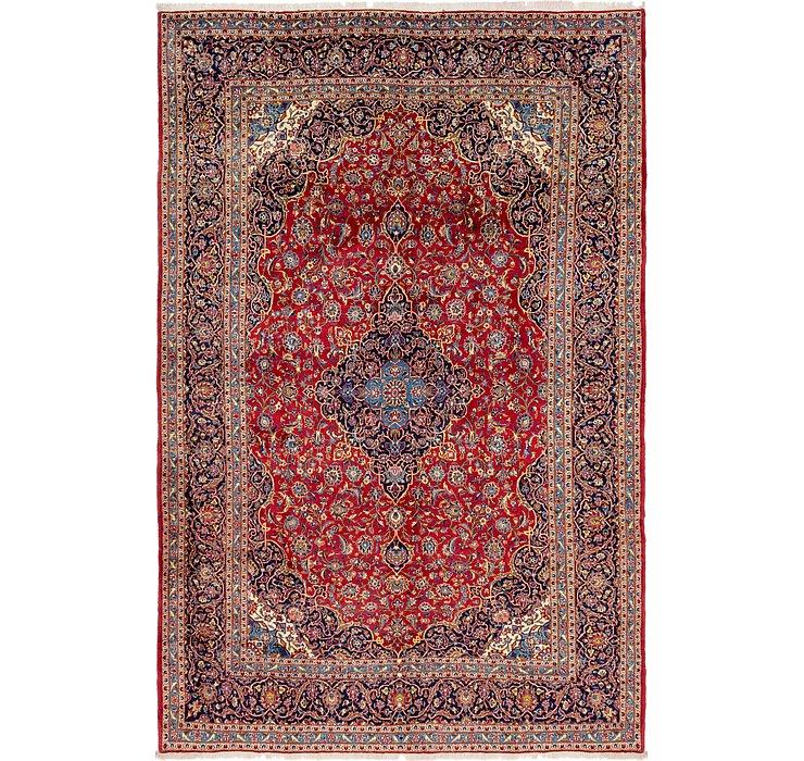 10' x 15' Kashan Persian Rug