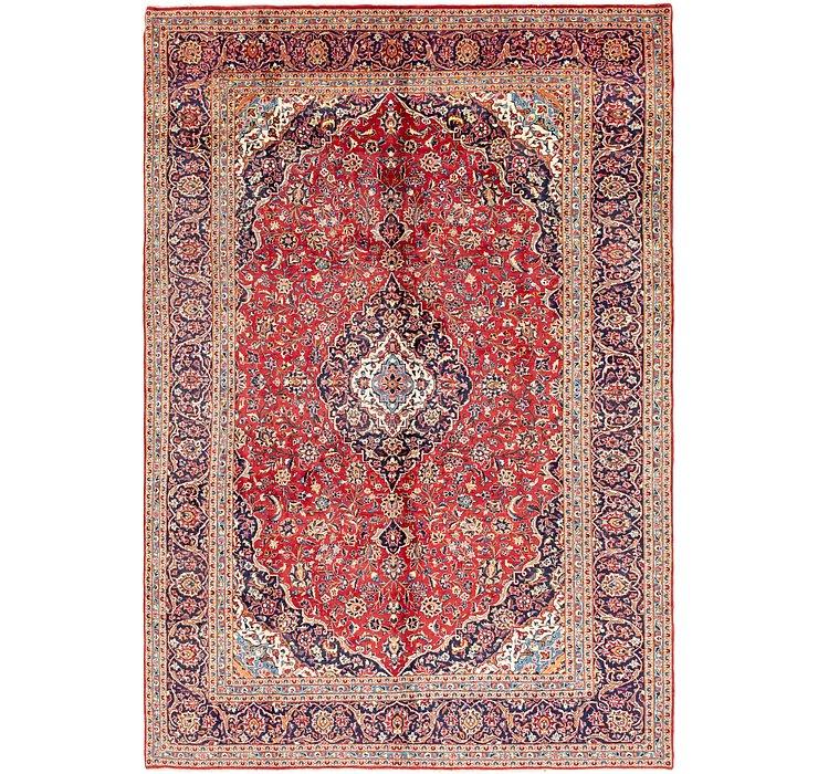 9' 9 x 14' 2 Kashan Persian Rug