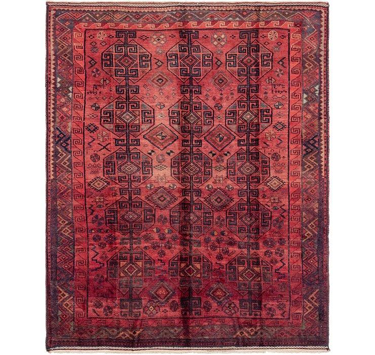 218cm x 275cm Shiraz-Lori Persian Rug