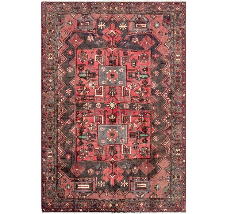 6' 8 x 6' 8 Bakhtiar Persian Rug