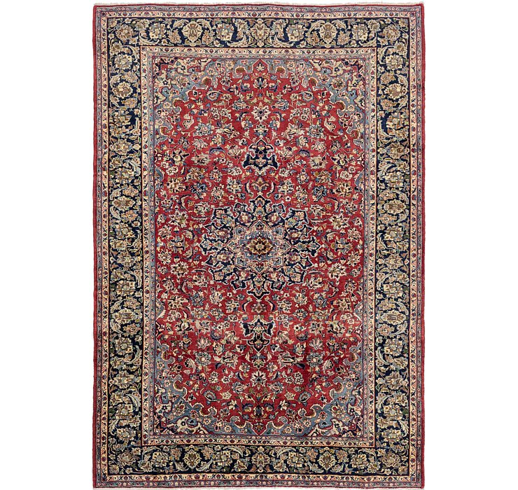 8' 6 x 12' Isfahan Persian Rug