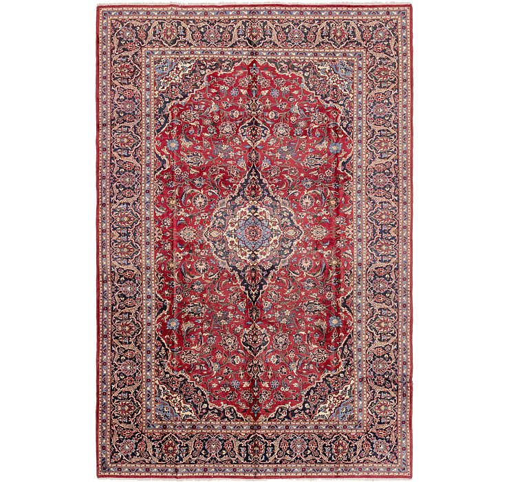 245cm x 370cm Kashan Persian Rug