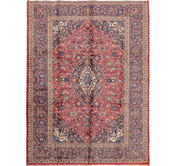 8' x 10' 9 Kashan Persian Rug